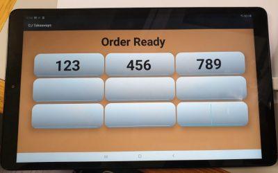 Customer Order Display