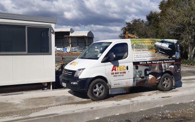 TDC Landfill Weighbridge install